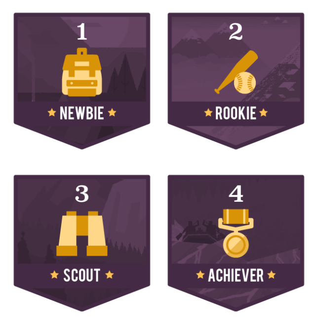 Level Badges 4set-01